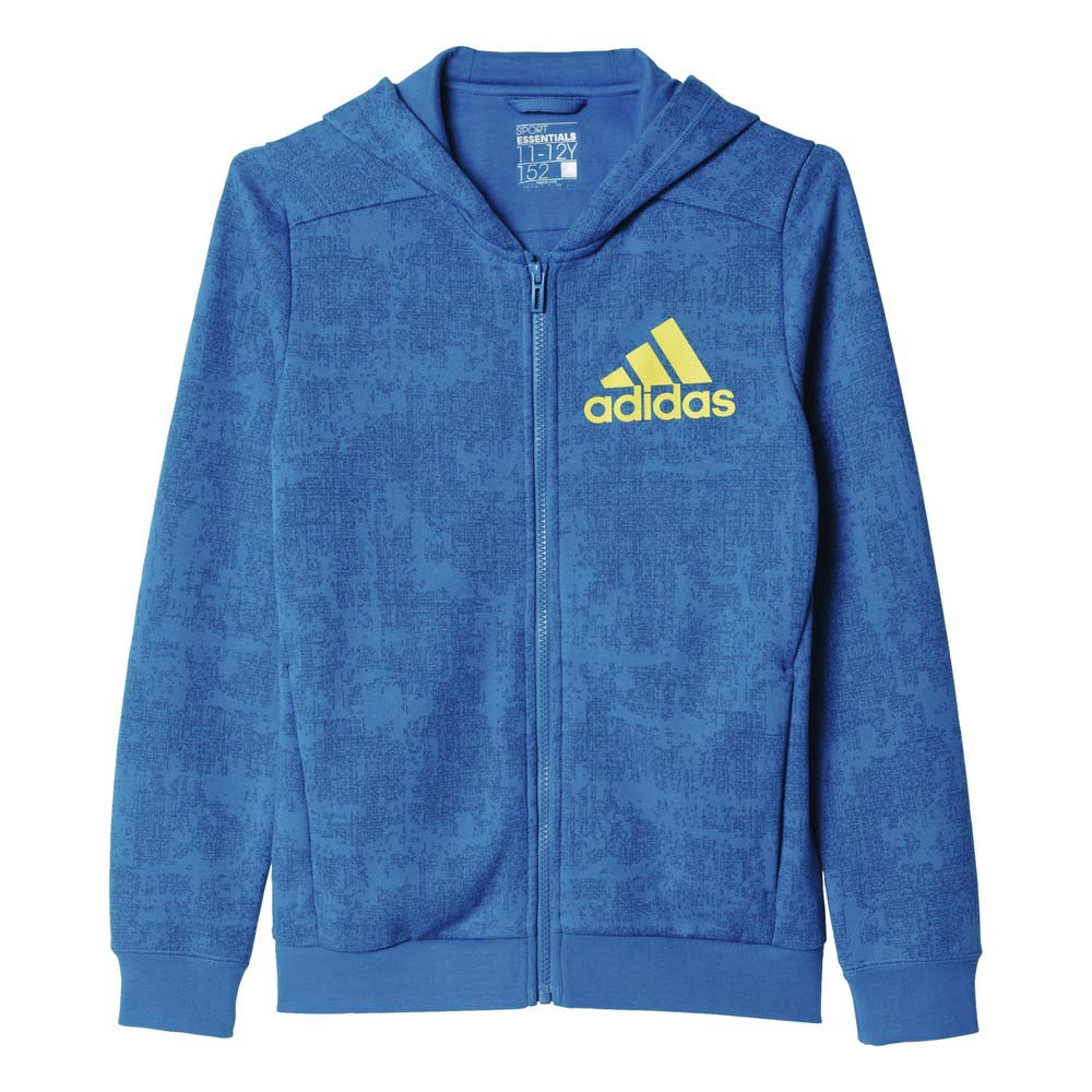 adidas Allover Print Full Zip