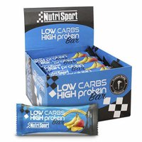 Nutrisport Low Carbs High Protein Bar Banana And Mango 16 Units